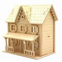 China Wooden Doll House, Handmade DIY with Top Quality, Small Orders are Accepted  on sale