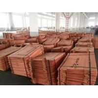China Copper Cathodes 99.99% Factory Price!!! on sale