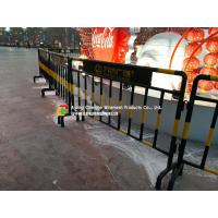 Best Customized Steel Pipe Fence / Railing , Roads Galvanized Steel Fence wholesale