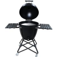 Best 22 Inch Metal  Kamado Charcoal Grill Big Egg With Bamboo Handle wholesale