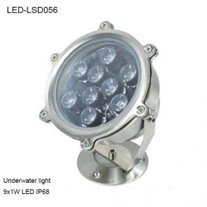 Best 9W Revolve angle outside IP68 LED Underwater light for park pool wholesale