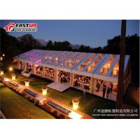China Outdoor Meeting Aluminum Frame Canopy Tents With Sidewall No Deformation on sale