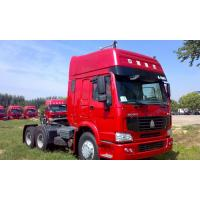 Best Sinotruk Howo 6x4 371hp Prime Mover Tractor Truck With Two Sleepers WD615.47 Engine wholesale