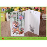 China Two Sided Printing Holiday Christmas Cards , Professional Happy Birthday Greeting Cards on sale