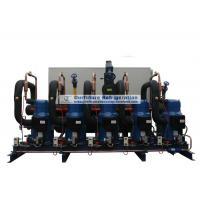 Best Scroll type condensing unit with Danfoss R404a compressor and PLC control for cold store wholesale