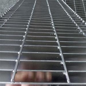 Best 32x5mm Platform Checker Plate Serrated Galvanized Steel Grating Door Mat wholesale