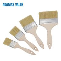 Cheap Wood Handle Natural Bristle Paint Brush Epoxy Glue For Decoration Painting for sale