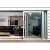 Best Commercial Aluminium Doors Stacking Sliding Glass Doors With Top Brand Accessory wholesale