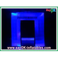 Best Durable Oxford Cloth Inflatable Photo Booth , Led Lights Blow-up Photo Booth wholesale