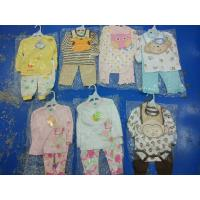 Best Brand new in stock cotton baby clothes discount infant outfits stock-lot  3 piece sets spring cute clothes for 24M kids wholesale