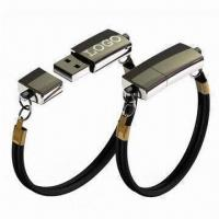 Best Bracelet USB Flash Drives with Plug-and-play Function, OEM Orders are Accepted wholesale