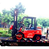 Best OEM Diesel Forklift Truck With Triplex Full Free Mast 5m Side Shift Container wholesale