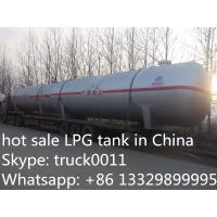 Best hot sale 20ton bulk LPG gas storage tank, factory price LPG for sale, cheapest price and high quality LPG tank wholesale