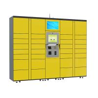 Best 15 inch Touch Screen Parcel Delivery Lockers , Computer System Parcel Locker Service wholesale