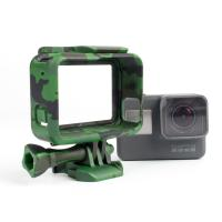 Best Camouflage Standard Border Frame Protective Action Camera Housing , GoPro Hero 5 housing for camera wholesale