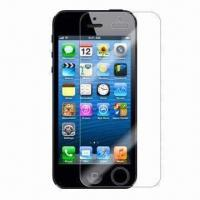 Best Mobile Phone Screen Protector, Suitable for iPhone 5, with 100% UV Protection, Washable wholesale