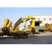 Buy cheap 14 Ton Lifting Mobile Knuckle Boom Truck Crane SQZ420A Advanced development product