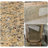 China Venetian Gold Solid Granite Worktops For Bathroom Vanity / Kitchen on sale