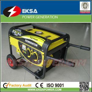 China 3KW Single Phase Portable Gasoline Generator Sets on sale
