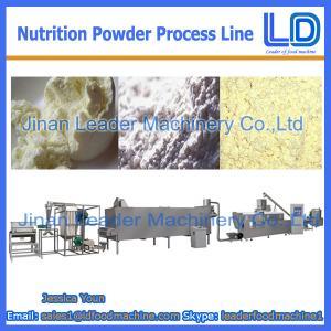 Best Nutrition powder /baby rice powder processing Line wholesale