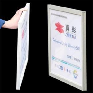 China Single-side snap frame light box on sale