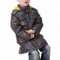 Best Children's down coat with detachable hood wholesale