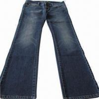 China Ladies' Long Jeans on sale