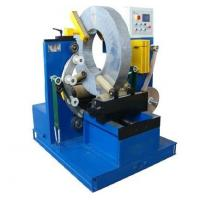 Best Electric Wire Baler Cable Wrapping Machine With Two Driving Rollers 220V / 380V Voltage wholesale
