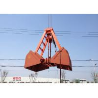 Best Mechanical Grabs Single Rope Touch Open Bulk Grab for Loading Sand / Coal / Mineral Powder wholesale