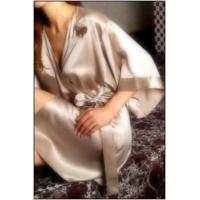 China 100% Silk Bathrobe on sale