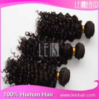 Buy cheap 5A Good quality hot sale deep curly peruvian remy hair extension product