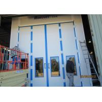 Best 20 Meters Side Downdraft Paint Booth , Bus Spray Booth With Lifting Platform wholesale