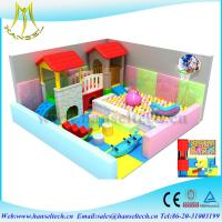 China Hansel  plastic playground equipment for amusement indoor and  outdoor on sale