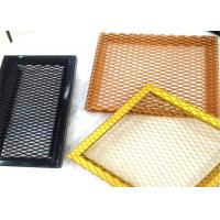 China Multi Colored Expanded Diamond Mesh / Expanded Steel Mesh Sheets Standard Hole on sale