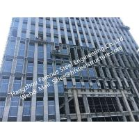 China Double/Triple Insulated Fire Glass Façade Curtain Walling Units Structural Glazing Stick Built System on sale