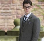 Best Men's Woolen Twill Three Piece Suit with Notch Lapel wholesale