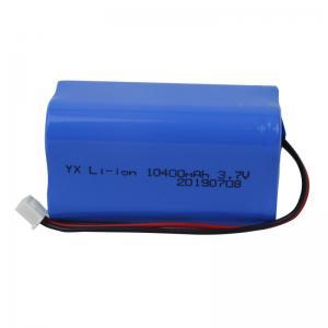 Best 1000 Cycle UN38.3 10400mAh 3.7V Lion Battery Pack wholesale