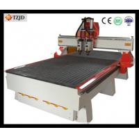 Buy cheap China 3d furniture Wood Carving CNC Router machine with double heads from wholesalers