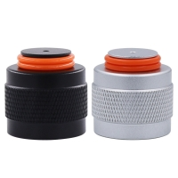 China New Aluminum G1/2-14//W21.8//TR21-4 Thread Protector/Saver for HPA/CO2 Paintball Tank Soda Cylinder Regulator Or Valve on sale