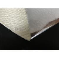 Best Thermal Insulation Fire Resistant High Silica Fabric Aluminum Foil Coated wholesale