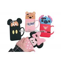 Best Cute silicone animal cartoon phone case supply promotional silicone girls phone cover custom wholesale