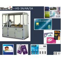 China High precision credit card maker machine 3 Punches L2250 × W1070 × H1850mm on sale