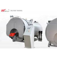 China Intelligent Automated Oil Fired Steam Boiler , Horizontal Steam Boiler Long Life on sale