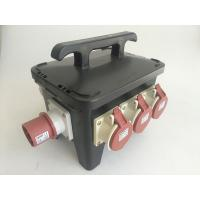 Cheap 63 Amps Temporary Electrical Spider Box For Convention Center / Tradeshow for sale