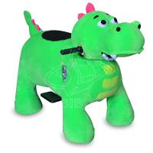 Best Sibo Green Dinosaur Baby Horse Animal Rides Machine Amusement Park wholesale