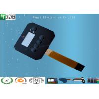 Best Customized FPC Circuit Touch Screen Membrane Panel Switch 0.18 mm PET / PC Overlay wholesale