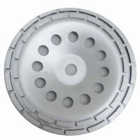 Best Double Row Diamond Grinding Cup Wheel for grinding concrete / 7 inch diameter wholesale