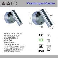 Best Hotel bedside wall light surface mounted LED reading wall lamp bed wall light wholesale