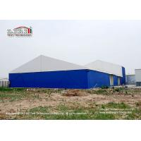 Best 30m Width Industrial Storage Tents With  Block - Out And Translucent Roof Cover wholesale