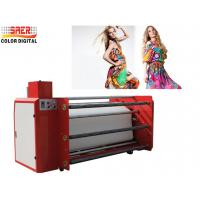 China 1.6m Roll to Roll calander heat Transfer Press Printing Machine for Fabric on sale